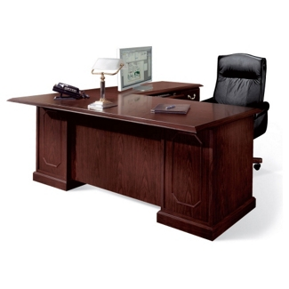 "72"" Executive L-Desk with Right Return, 11988"