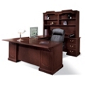 U-Desk with Right Bridge and Hutch, 11994