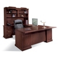 U-Desk with Left Bridge and Hutch, 11995