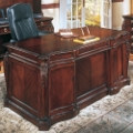 "European Styled 66"" Executive Desk, 30773"