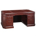 Executive Desk with Pull-Out Writing Surfaces, 13131