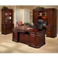 Executive Office with Right Handed U-Desk, 13134