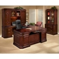 Executive Office with Left Handed U-Desk, 13135