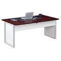 "Glass Panel Executive Desk - 72"", 13711"