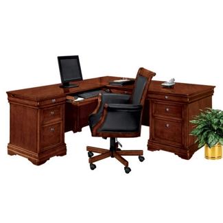 L-Desk with Left Return, 15149