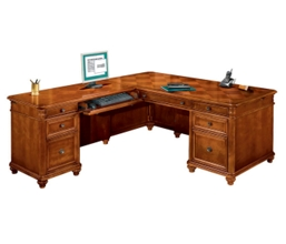 Executive L Desk with Left Return, 15398
