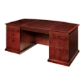 Executive Bow Front Desk, 15415