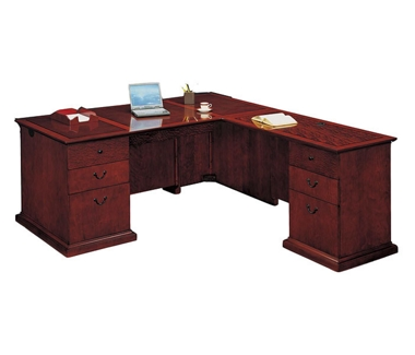 Executive L-Shape Desk with Right Return, 15416