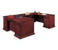 Executive U-Shape Desk with Right Return, 15418