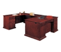 Executive U-Shape Desk with Left Return, 15419
