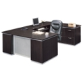 Executive U Desk with Right Bridge - Ready to Assemble, 14222