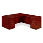 Executive L-Desk with Right Return, 15898