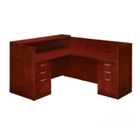Reception L-Desk with Right Return, 15902