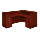 Reception L-Desk with Left Return, 15903