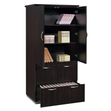 Lateral File with Storage Cabinet, 30484