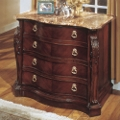 Two Drawer Lateral File with Marble Top, 30771