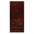Two Drawer Lateral File with Storage Hutch, 30791