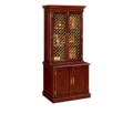 Traditional Cabinet with Hutch Top, 31502