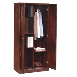 Storage Cabinet with Wardrobe Section, 31742