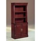 English Cherry Bookcase with Doors, 32557