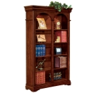 Chocolate Patina Five Shelf Bookcase, 32601