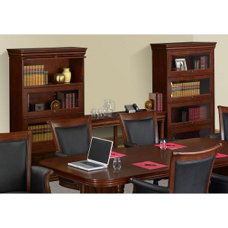 Barrister Bookshelves Wood Lawyer Bookcases