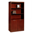 "72"" High Bookcase with Doors, 32776"