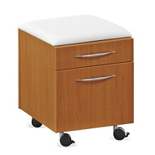 Cushion Top Mobile Pedestal, 36207