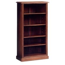 """Traditional Mahogany Bookcase - 60""""H, 40427"""