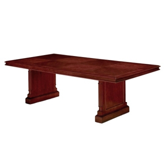 "English Cherry Traditional Rectangular Conference Table - 96"" x  48"", 40615"
