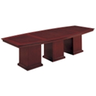 12' Boat Shape Conference Table, 40708