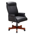 High Back Leather Swivel Chair, 52255
