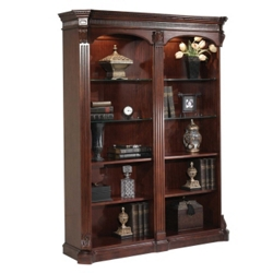 Old-World Double-Sided Bookcase, 32873