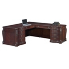Old-World Right Return L-Desk, 30788