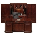 Executive Suite with Desk and Wall Unit, 86147