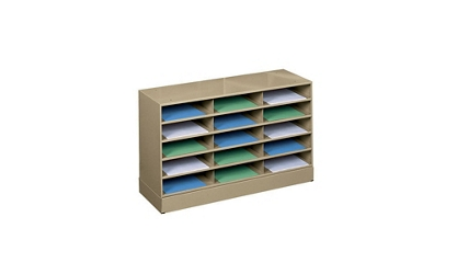 Literature Rack 15 Openings with Base, 33052