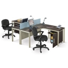 Two Person Complete Compact Office, CD04984