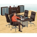 Conference Table and Storage Set, 82086