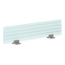 """72"""" Wide Frosted Glass Privacy Panel, 21097"""