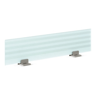 """48"""" Wide Frosted Glass Privacy Panel, 21099"""