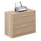 "At Work Two Drawer Lateral File in Warm Ash - 36""W, 30873"