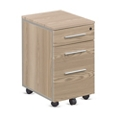 "At Work Mobile File Pedestal in Warm Ash - 26""H, 34945"