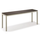 "72""W x 20""D Mobile Table, CD04967"