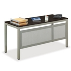 "At Work 60""W x 24""D Table Desk with Modesty Panel, 41537"