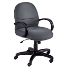 Mid Back Chair with Arms, 50480