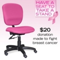 Special-Edition Pink Ergonomic Chair, 56885
