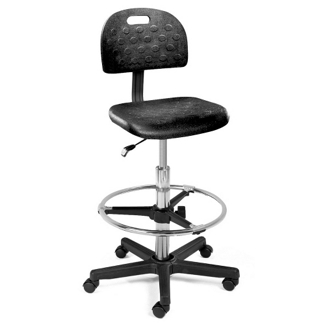Stool with Carpet Casters, 70124