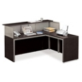 At Work Reception L-Desk with Right Return, 75933