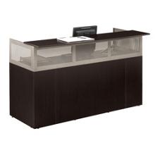 At Work Reception Desk with Pedestal, 13519