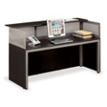 "At Work 72""W x 29""D Reception Desk, 75934"